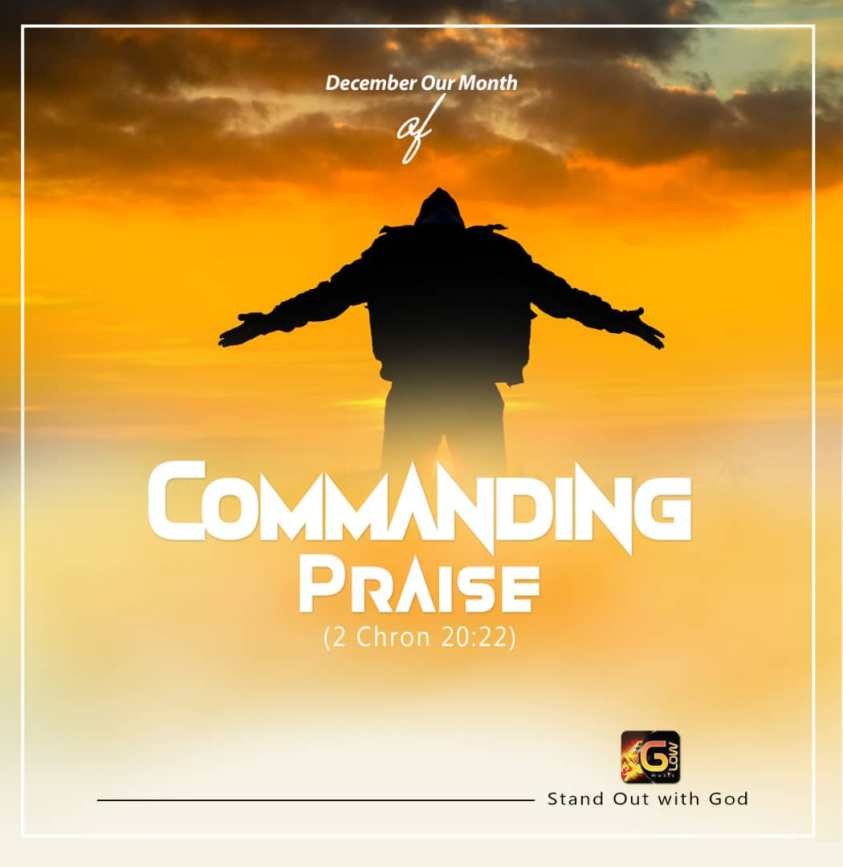 glow music ministry december 2018 month of commanding praise