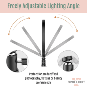 19 Inch LED Glow Ring Light/Selfie Light with Tripod - Glow Ring Light Co. Australia - Free Shipping + AfterPay