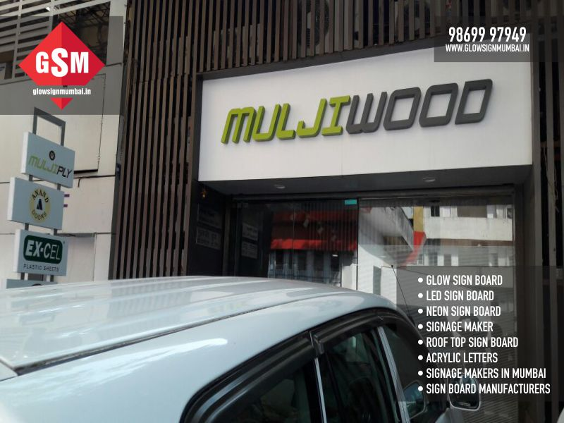 Sign Board Manufacturers in King Circle