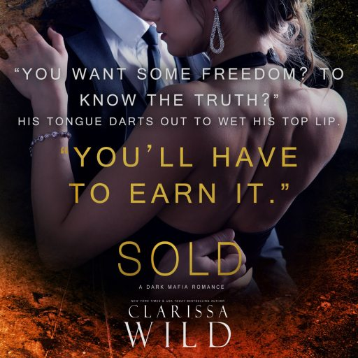 Book Cover: Sold by Clarissa Wild