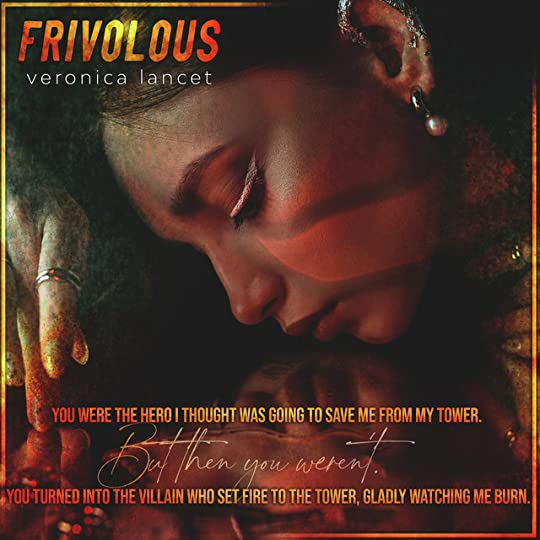 A teaser for the book Frivolous by Veronica Lancet