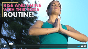 rise and shine yoga routine