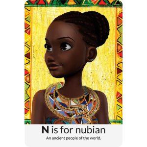 N is for Nubian