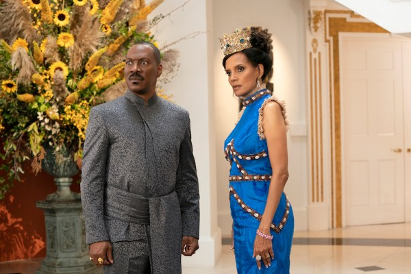 Eddie Murphy and Shari Headley star in COMING 2 AMERICA Photo Courtesy of Amazon Studios