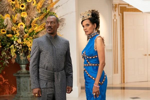Eddie Murphy and Shari Headley star in COMING 2 AMERICA Photo Courtesy of Amazon Studios