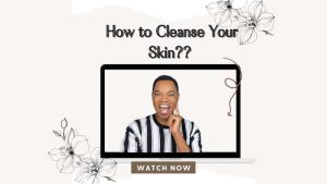 brich beauty how to cleanse