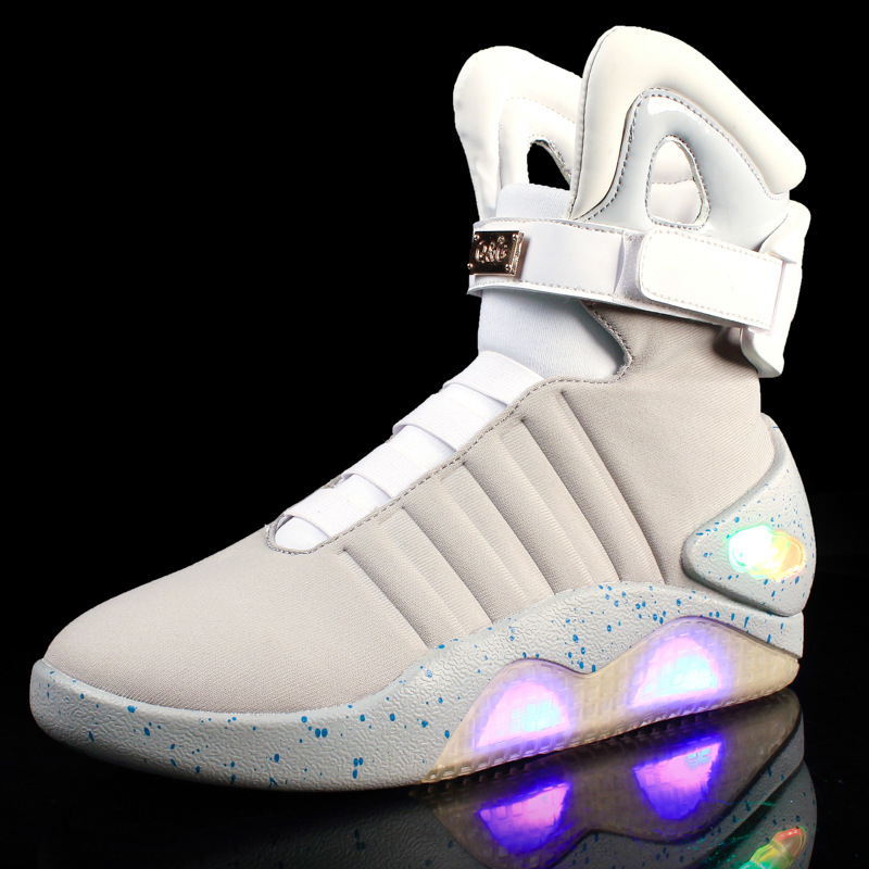 white led sneakers
