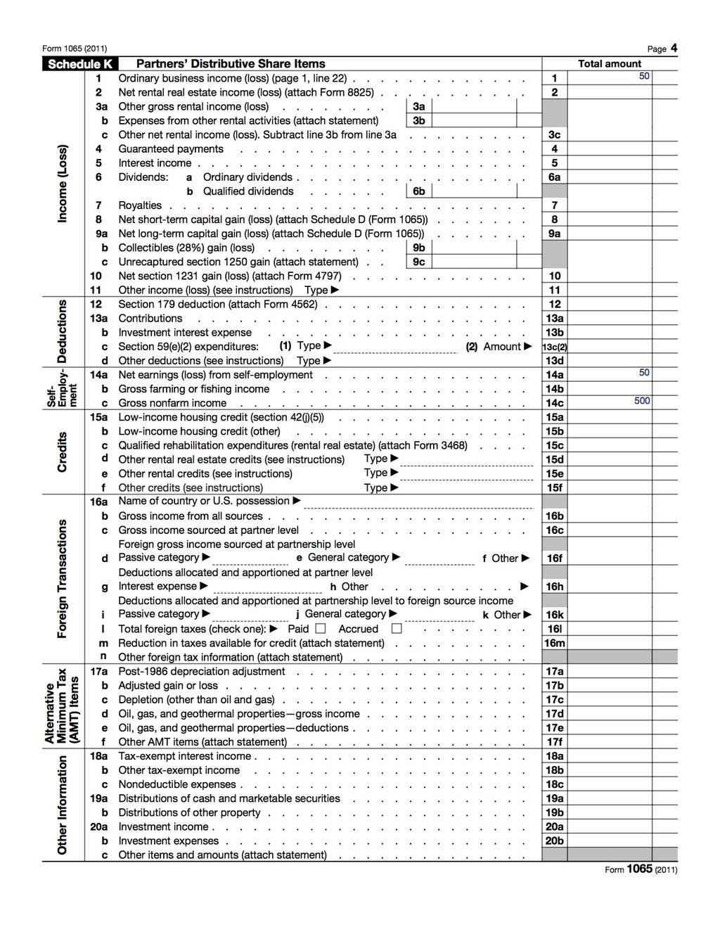 How To Fill Out An Llc Irs Tax Form