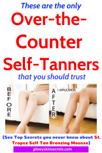 A curated list of the best over the counter self tanners