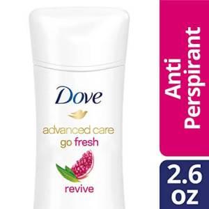 Dove Advanced Care Anti-Perspirant Deodorant, Revive 2.6 Oz, best deodorant for sports, best deodorant for excessive sweating underarms