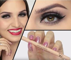 Golden Rose miracle pencil contour lips and brighten eye-look, best lip liner to stop feathering