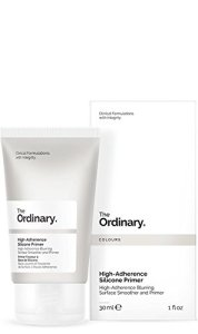 The Ordinary High-Adherence Silicone Primer, a silicone-based makeup for women
