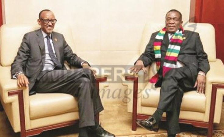Kagame Is Teaching Mnangagwa How To Build An Economy—A Case Of False Prophet