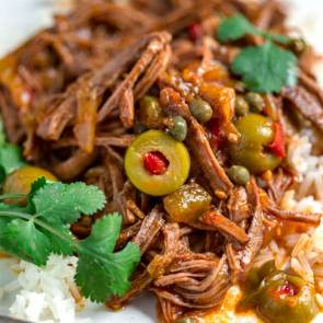 Cuban-Ropa-Vieja-Braised Beef
