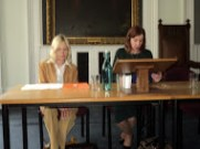 Paulette and Anne Louise open proceedings