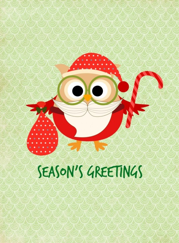 Season's Greetings Printable