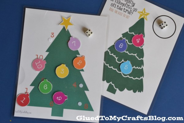 Christmas Busy Games - Free Printables