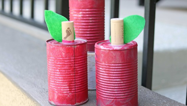 Tin Can Apples – Kid Craft