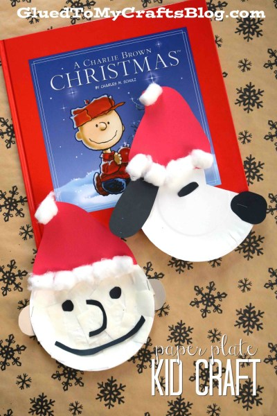 Christmas Charlie Brown & Snoopy - Kid Craft