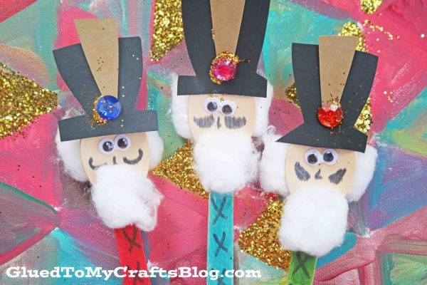 Wooden Spoon Toy Soldiers - Kid Craft