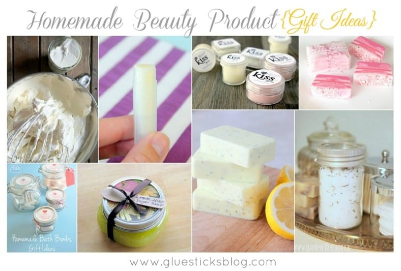 Homemade Beauty Gift Ideas