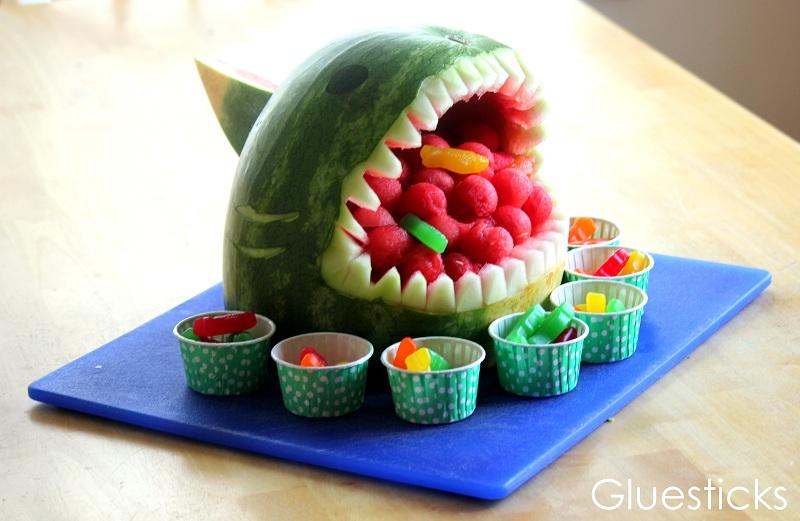 Make a Watermelon Shark! - Gluesticks