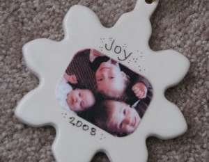 Ceramic Snowflake Ornament…