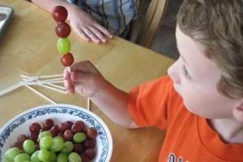 Frozen Grape Pops