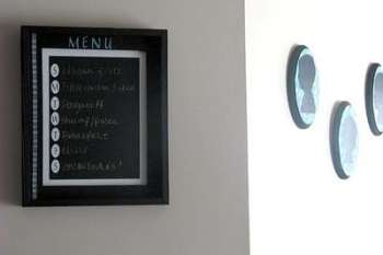 Framed Chalkboard Menu Tutorial