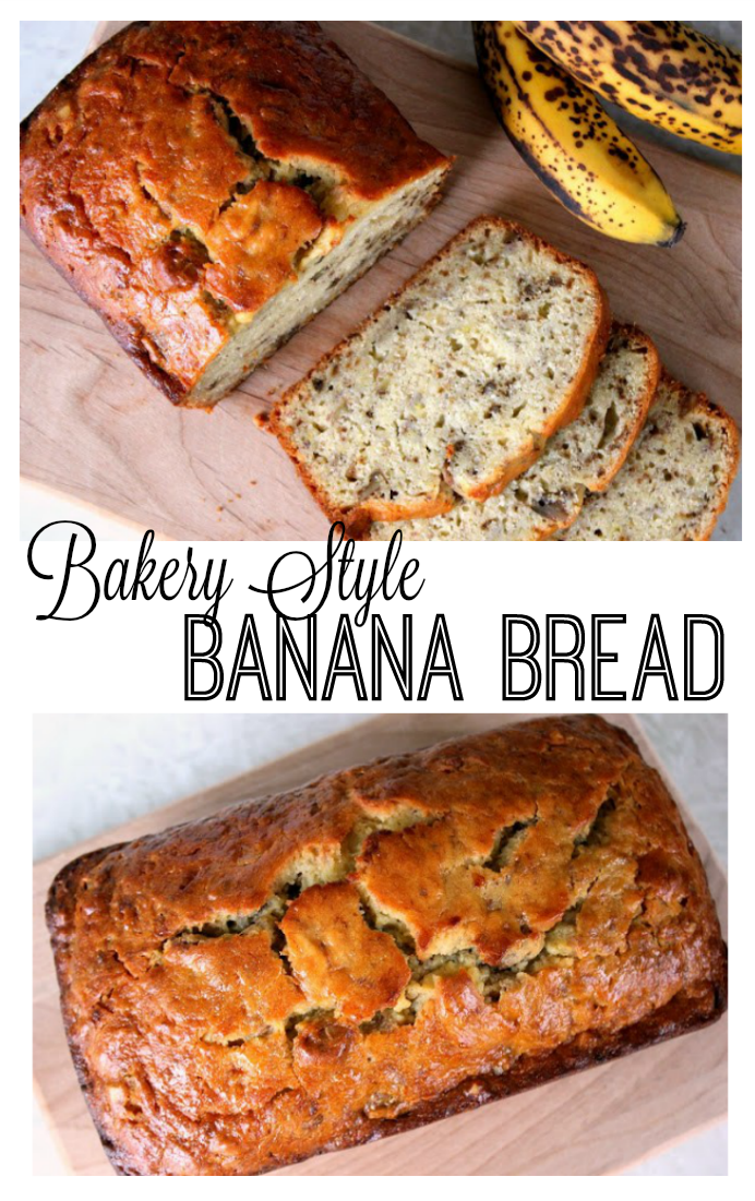 Don't let those overripe bananas go to waste! This copy cat Bob Evan's banana bread recipe rivals any from a local bakery. Soft, delicious, and sticky on the top. This recipe yields 2 loaves of delicious banana bread.