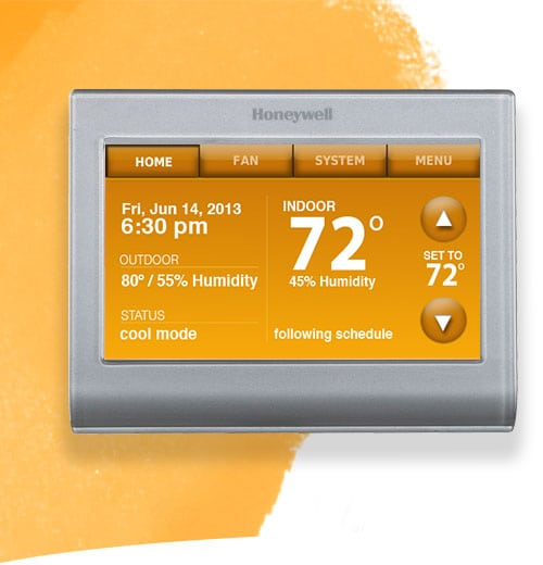 The New Honeywell Wi-fi Smart Thermostat