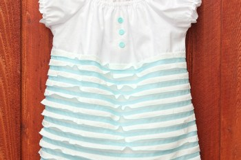 Ruffles for Ruby {Simple Spring Ruffle Dress}