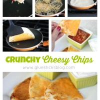 Crunchy Cheese Chips: An Easy After School Snack Idea