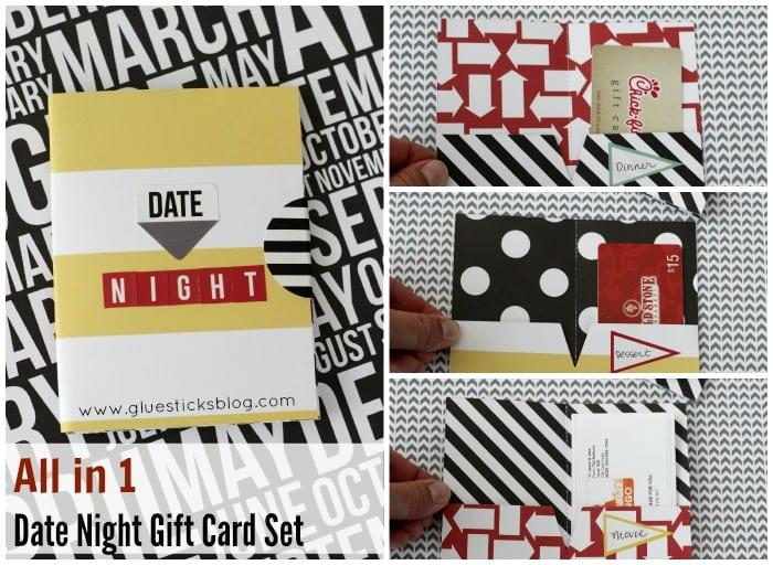 Date Night Gift Card Set | Gluesticks