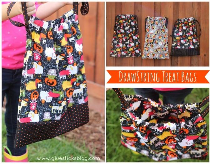 Drawstring Treat Bags