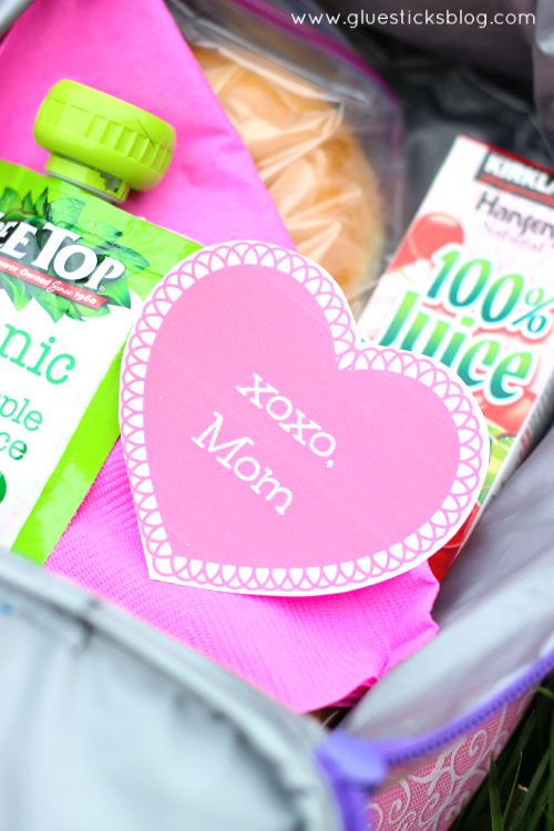 printable lunch box notes gluesticksblog