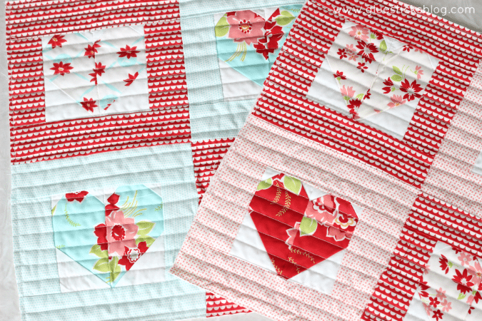Quilted Sweetheart Pillow Tutorial