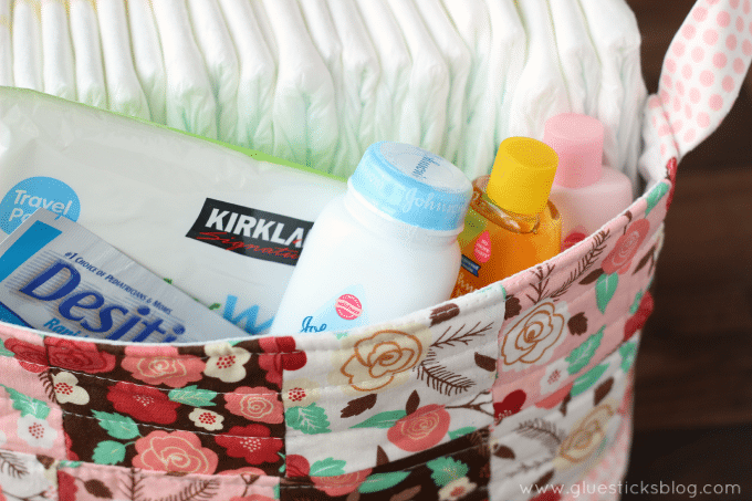 fabric storage basket tutorial
