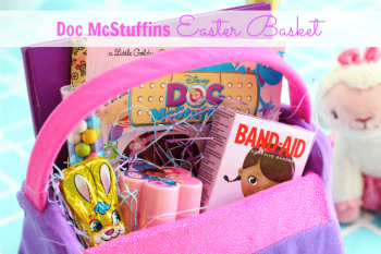 Doc McStuffins Inspired Easter Basket