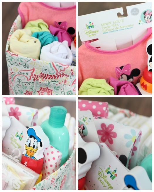 Disney Baby Fabric Gift Basket