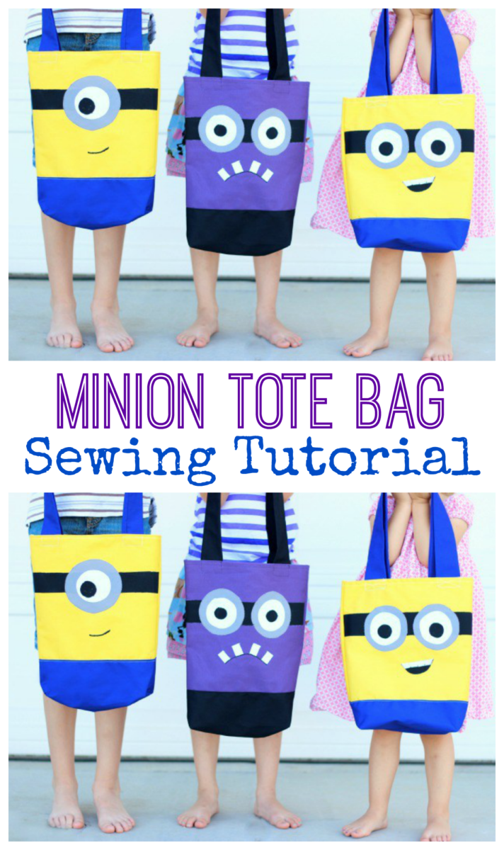 Make A DIY Minion Tote Bag That Is Perfect For Trips To The Pool, A