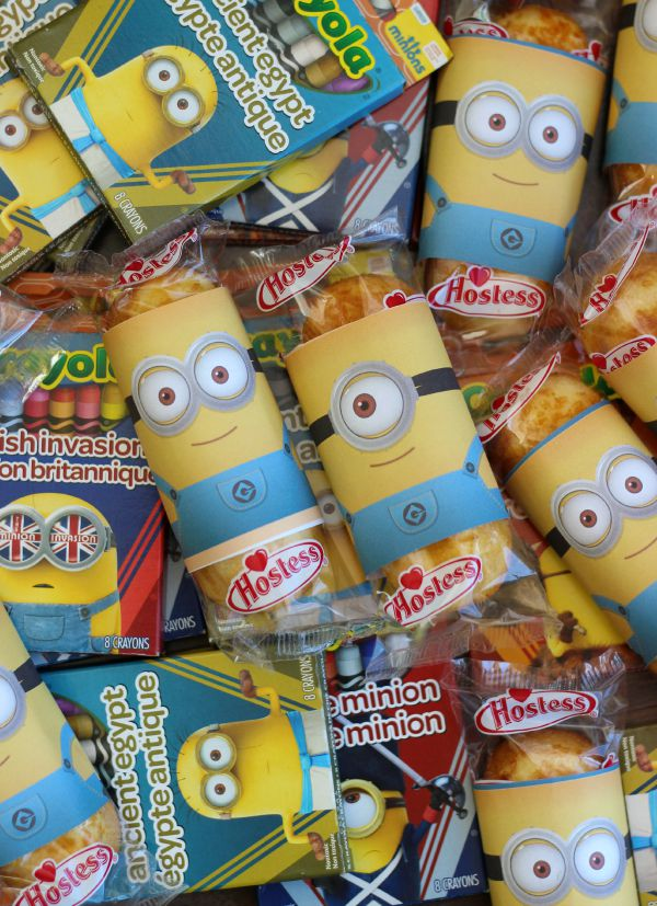 Printable Minion Wrappers