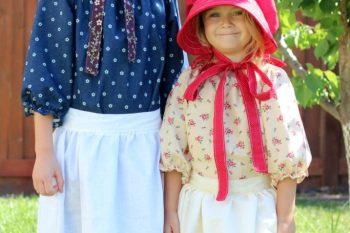 Sewing: Homemade Pioneer Costumes