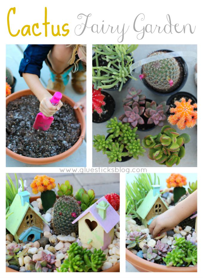 Easy fairy garden ideas for all seasons. Winter, spring, summer and fall inspiration to brighten your home and porch. Make one outdoor, indoors, with plants, with flowers, or with succulents! You can make it in a barrel, a milk jug, a pot, or a tea cup.