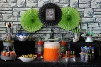 Mad Scientist Halloween Party