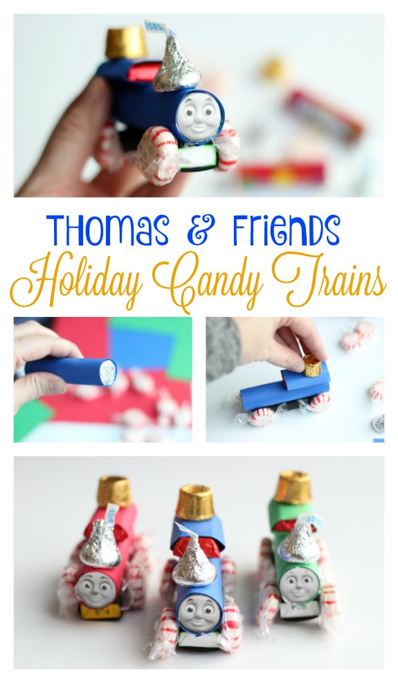 Thomas and Friends Holiday Candy Trains
