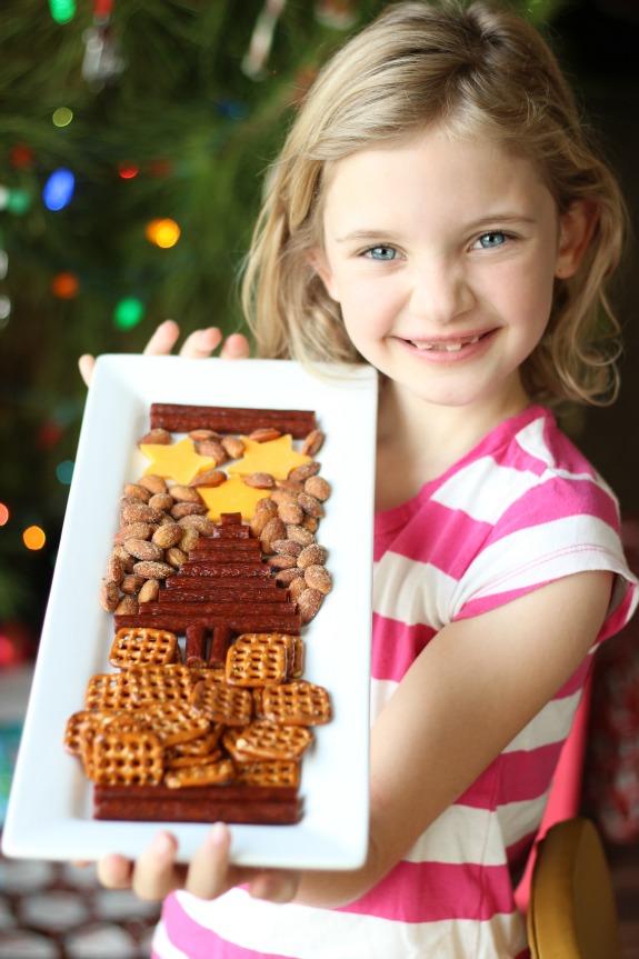 Christmas Savory Snack Tray