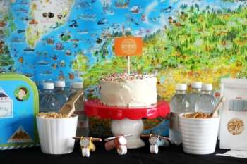 Travel Themed Party for Kids!
