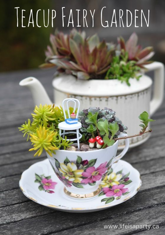 15 Fairy Garden Ideas