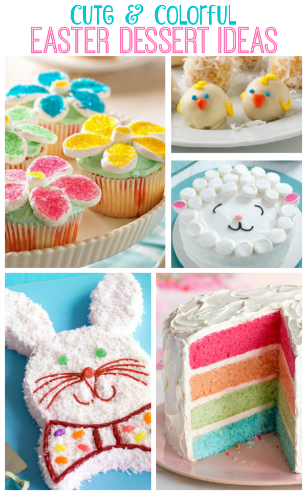 Cute And Easy Easter Desserts To Make This Year